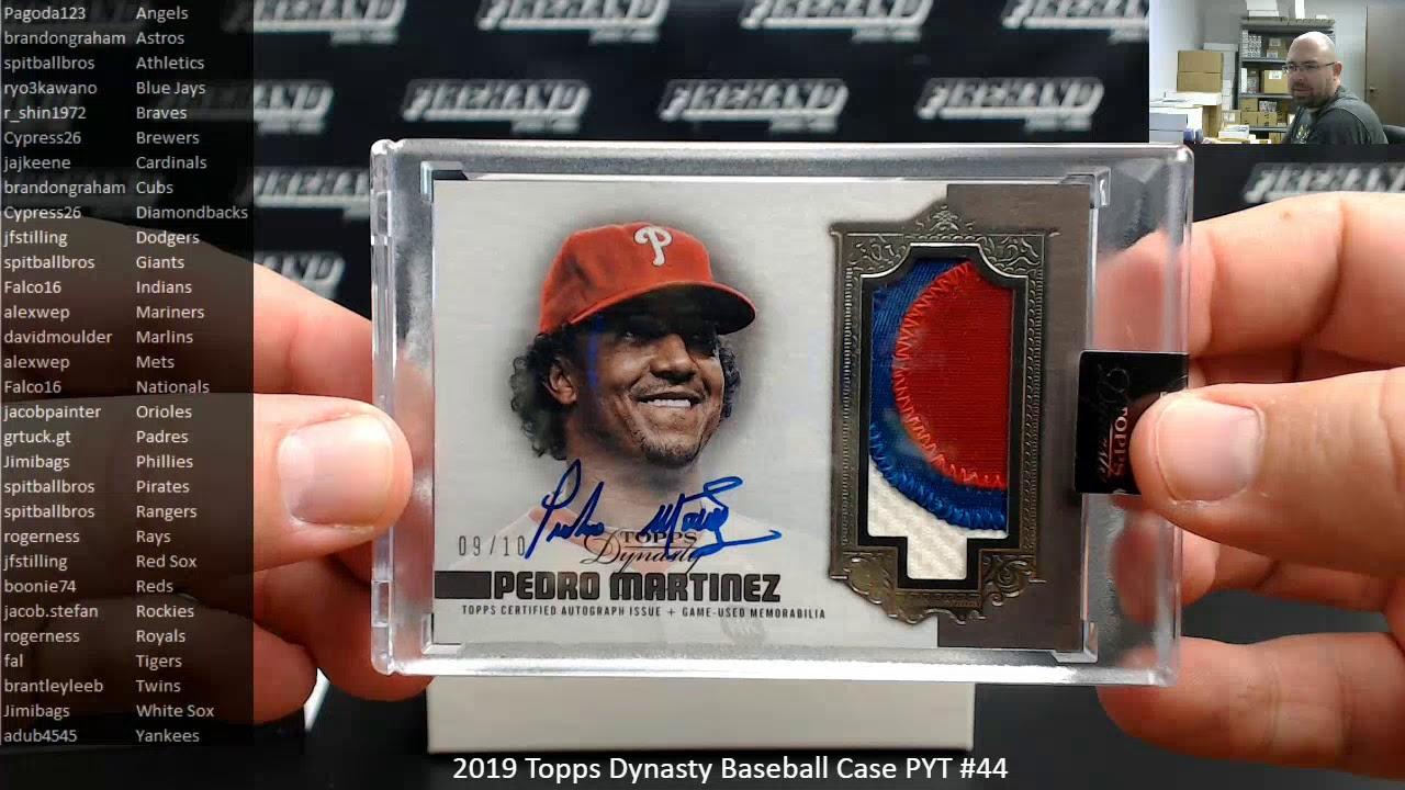 392020 2019 Topps Dynasty Baseball Case PYT 44 - 3/9/2020 2019 Topps Dynasty Baseball Case PYT #44
