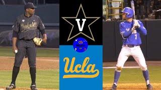5 Vanderbilt vs 2 UCLA 2020 College Baseball Highlights - #5 Vanderbilt vs #2 UCLA   2020 College Baseball Highlights