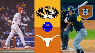 Missouri Tigers vs Texas Longhorns 2020 College Baseball Highlights - Missouri Tigers vs Texas Longhorns   2020 College Baseball Highlights