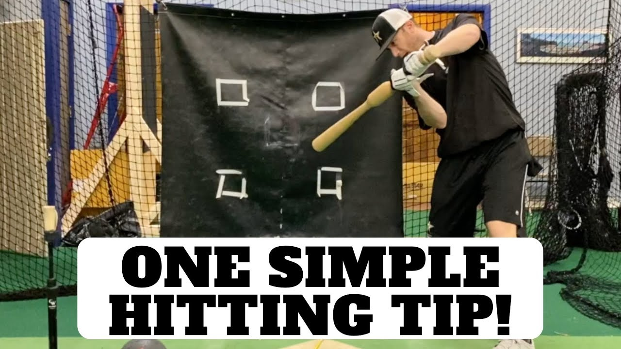 One Simple Thing To Do With All Baseball Hitting Drills - One Simple Thing To Do With All Baseball Hitting Drills!