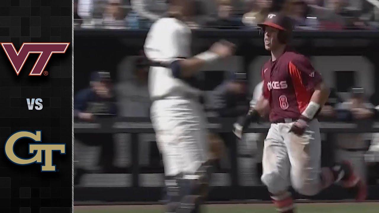 Virginia Tech vs. Georgia Tech Baseball Highlights 2020 - Virginia Tech vs. Georgia Tech Baseball Highlights (2020)