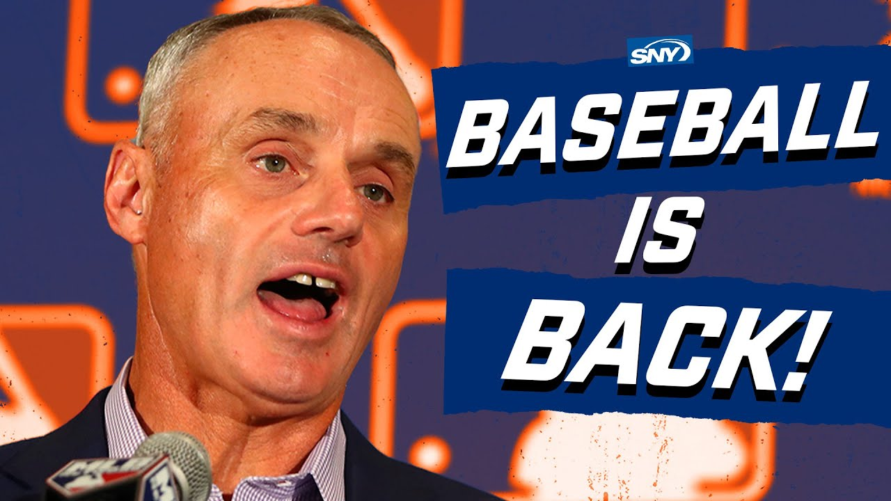 MLB announces 2020 season hopes players can report July 1 Baseball Night in New York SNY - MLB announces 2020 season, hopes players can report July 1 | Baseball Night in New York | SNY
