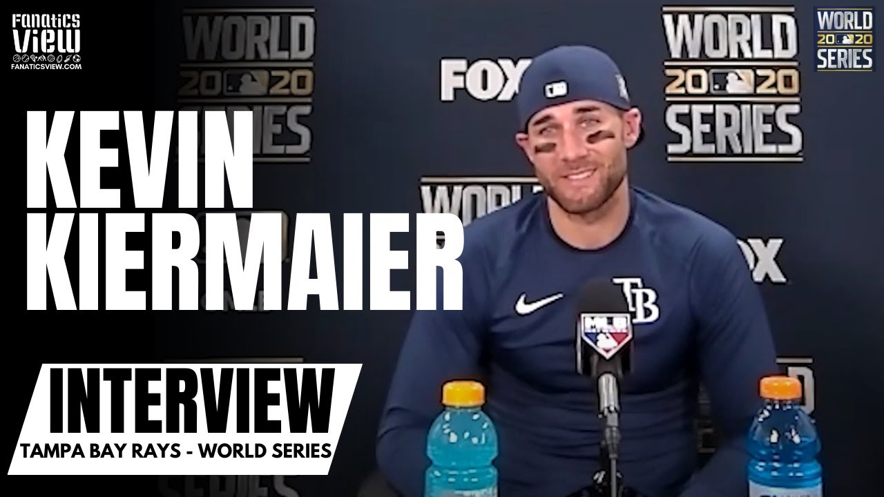 """Kevin Kiermaier Reacts to Rays Surreal World Series Walk Off The Baseball Gods Were On Our Side - Kevin Kiermaier Reacts to Rays Surreal World Series Walk-Off: """"The Baseball Gods We're On Our Side"""""""