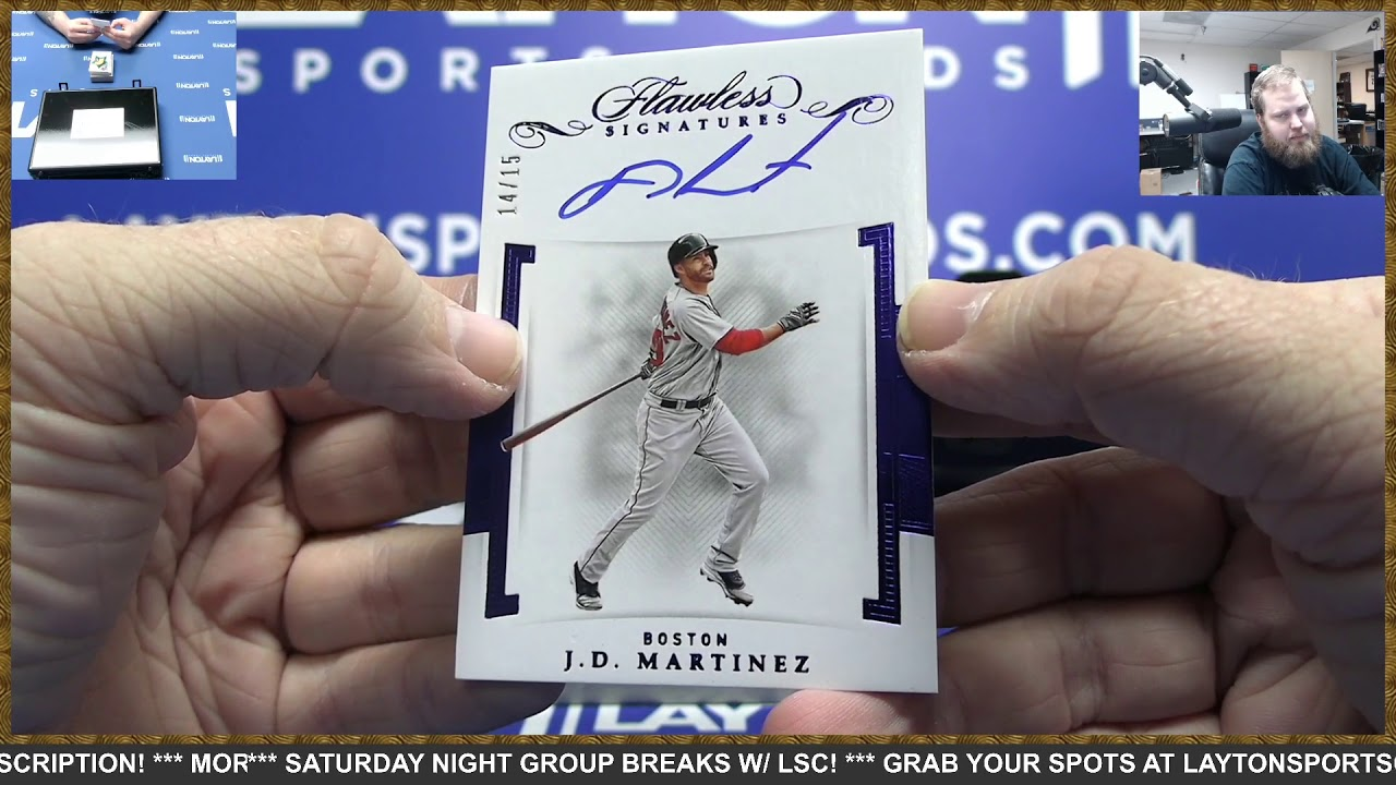 2020 Panini Flawless Baseball Hobby 1 Box Break 8 - 2020 Panini Flawless Baseball Hobby 1 Box Break #8