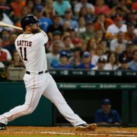Down Goes an Injured Evan Gattis, In Steps Preston Tucker