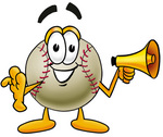 Clip art Graphic of a Baseball Cartoon Character