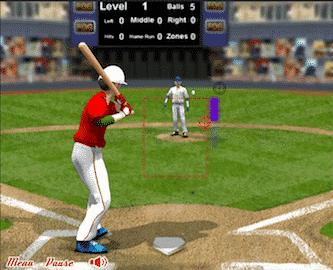 baseball challenge flash game