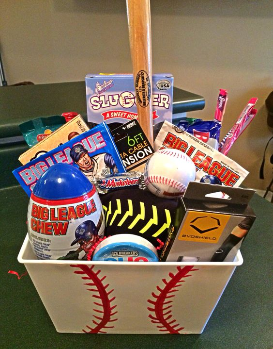 Auction Basket Sports Theme