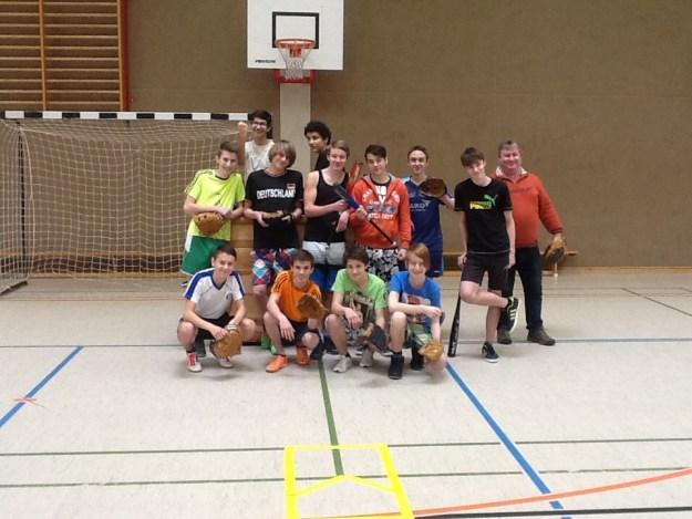 Schulprojekt-Baseball Jüterbog '15