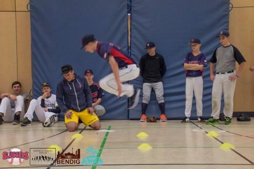 horizontal jump testing (player card)