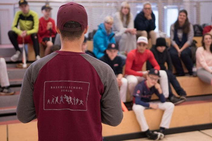 Baseball School Berlin Camp 2017 Feb