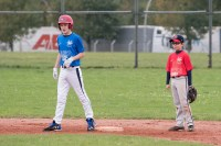 Leon and Otto focused at 2nd Base