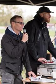Announcer Jeffrey and Dj Joey