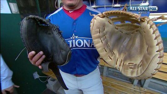 Catcher's mitt size