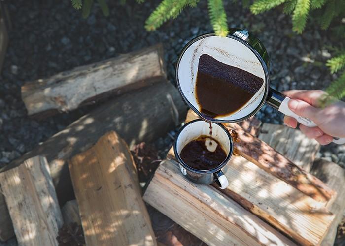 camping cowboy coffee