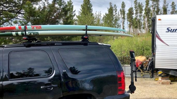 SupDawg PREMIUM ROOFTOP SUP & SURFBOARD MOUNT