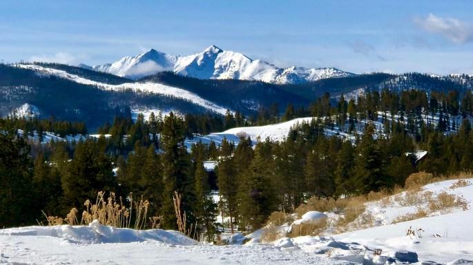 Mount Guyot and Bald Mountain