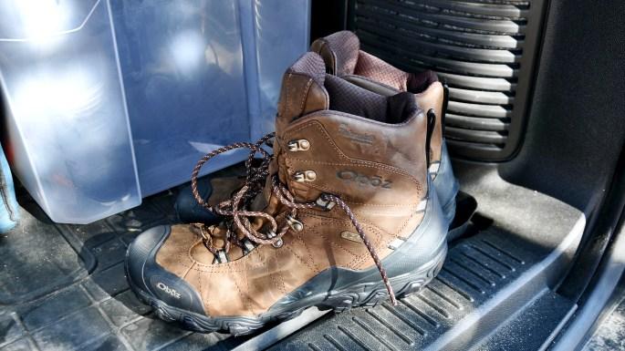 "Oboz Men's Bridger 8"" Insulated Waterproof ready for an adventure"