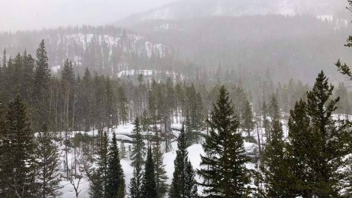 Crater Lake Trail, Indian Peaks Wilderness
