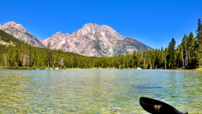 Mount Moran, as viewed from String Lake, Grand Teton National Park