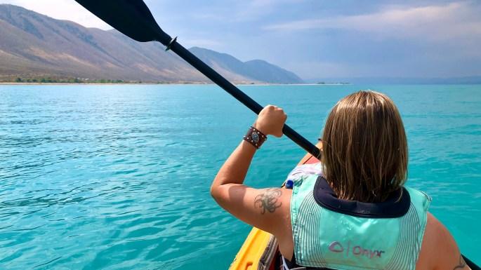 POTW: Kayaking Bear Lake, Utah/Idaho