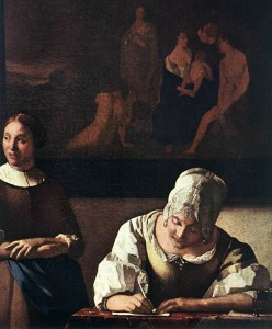 Web writing with Johannes Vermeer