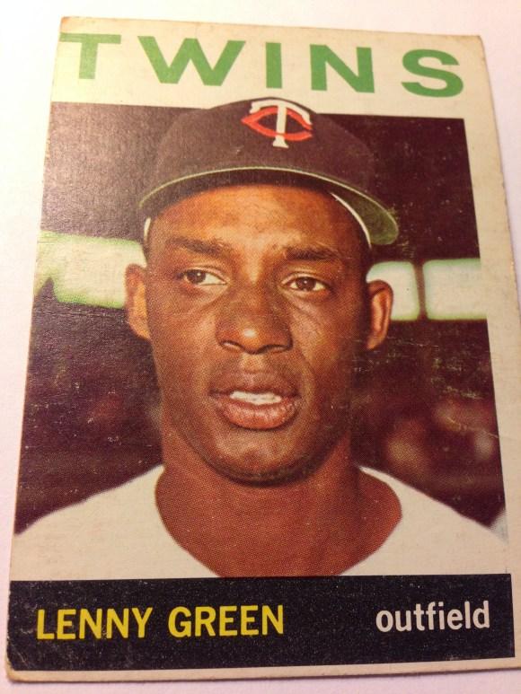 1964 Topps #386 Lenny Green