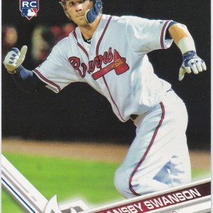 2017 Topps Dansby Swanson RC