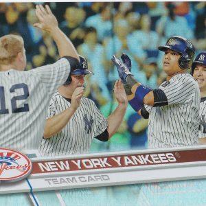 2017 Topps Rainbow New York Yankees