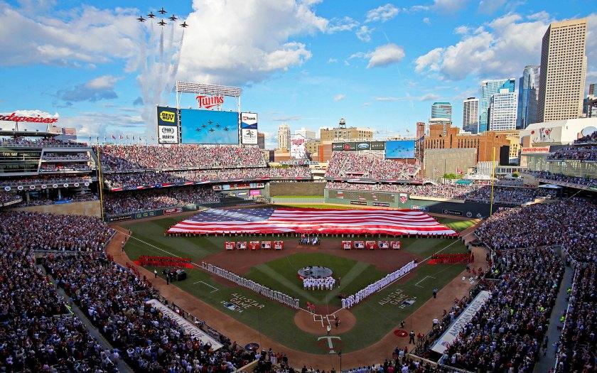 2014 MLB All-Star Game at Target Field Minneapolis, Minnesota