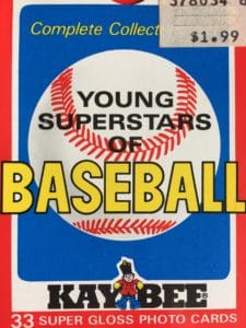 1986 Kay Bee Superstars Box