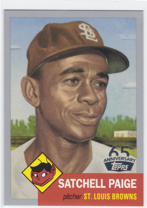 2016 Topps 65th Anniversary Satchell Paige