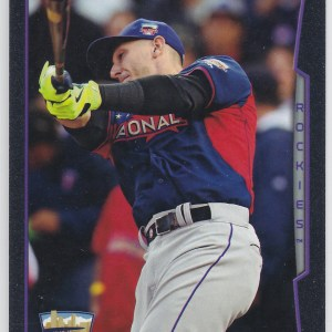 2014 Topps Update Camo /60 Troy Tulowitzki All-Star