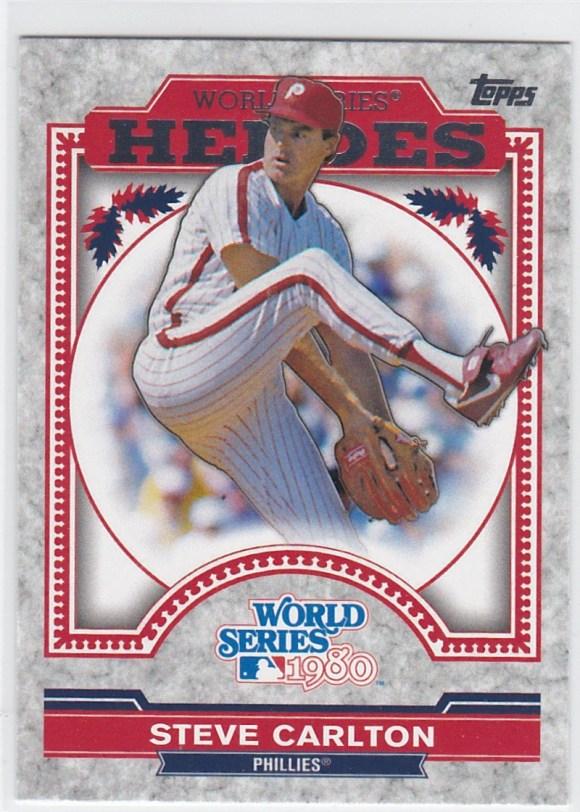 2014 Topps Update World Series Heroes Steve Carlton