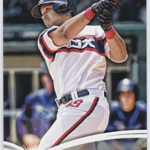 2014 Topps Update The Future Is Now Jose Abreu