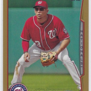2014 Topps Update Gold Asdrubal Cabrera