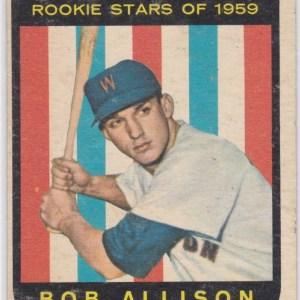 1959 Topps Bob Allison RC