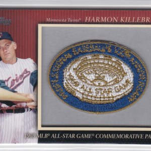 2010 Topps Manufactured Commemorative Patch Harmon Killebrew