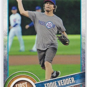 2015 Topps First Pitch Eddie Vedder