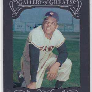 2015 Topps Gallery of Greats Willie Mays