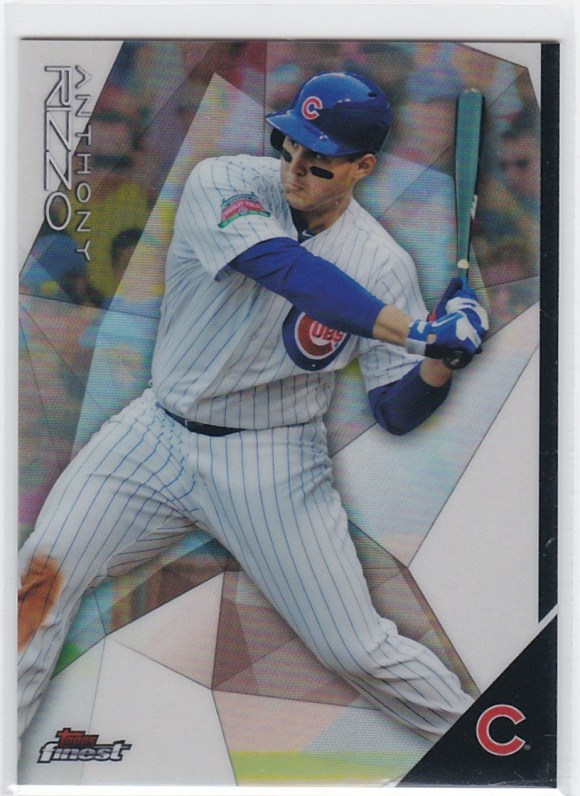 2014 Topps Finest Refractor Anthony Rizzo