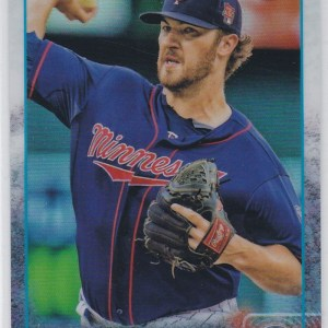 2015 Topps Chrome Refractor Phil Hughes