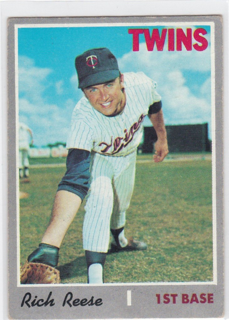 1970 Topps Rich Reese