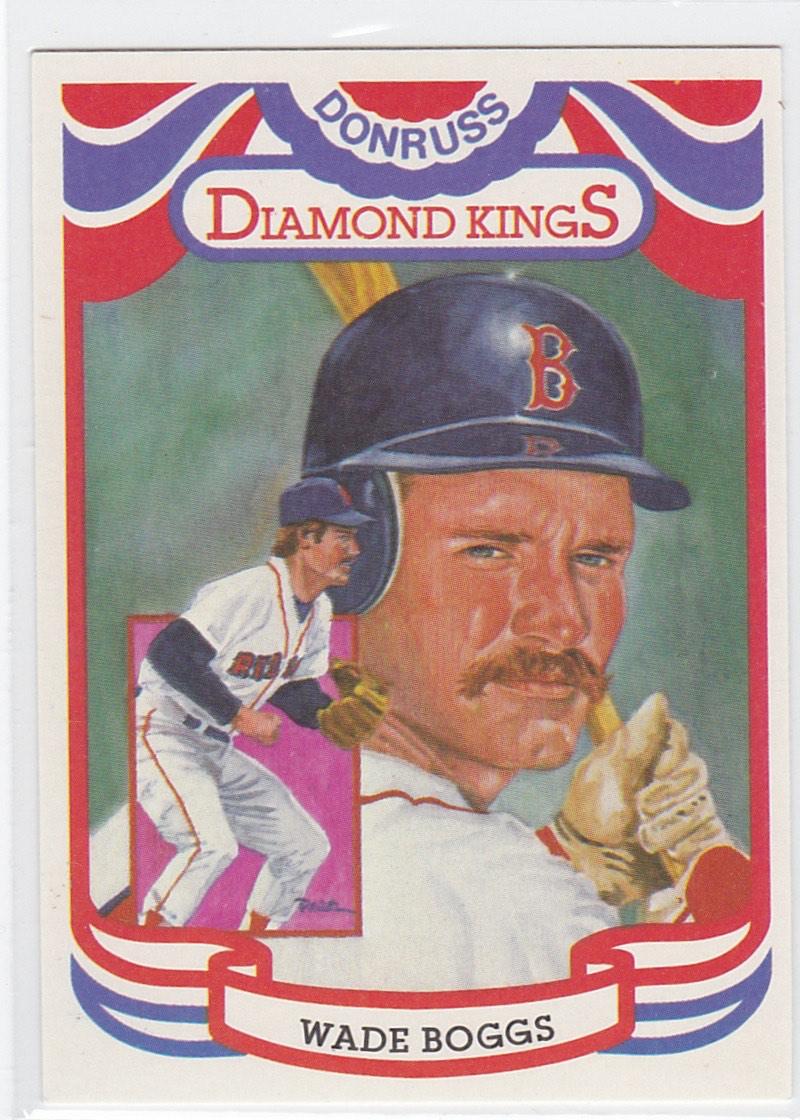 2001 Donruss Diamond Kings Reprints Wade Boggs