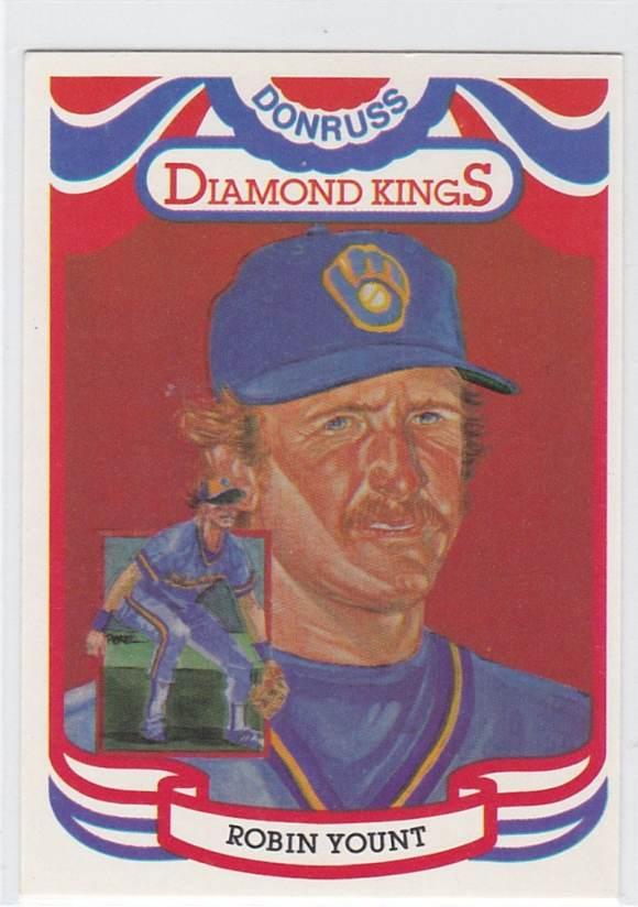 2001 Donruss Diamond Kings Reprints Robin Yount