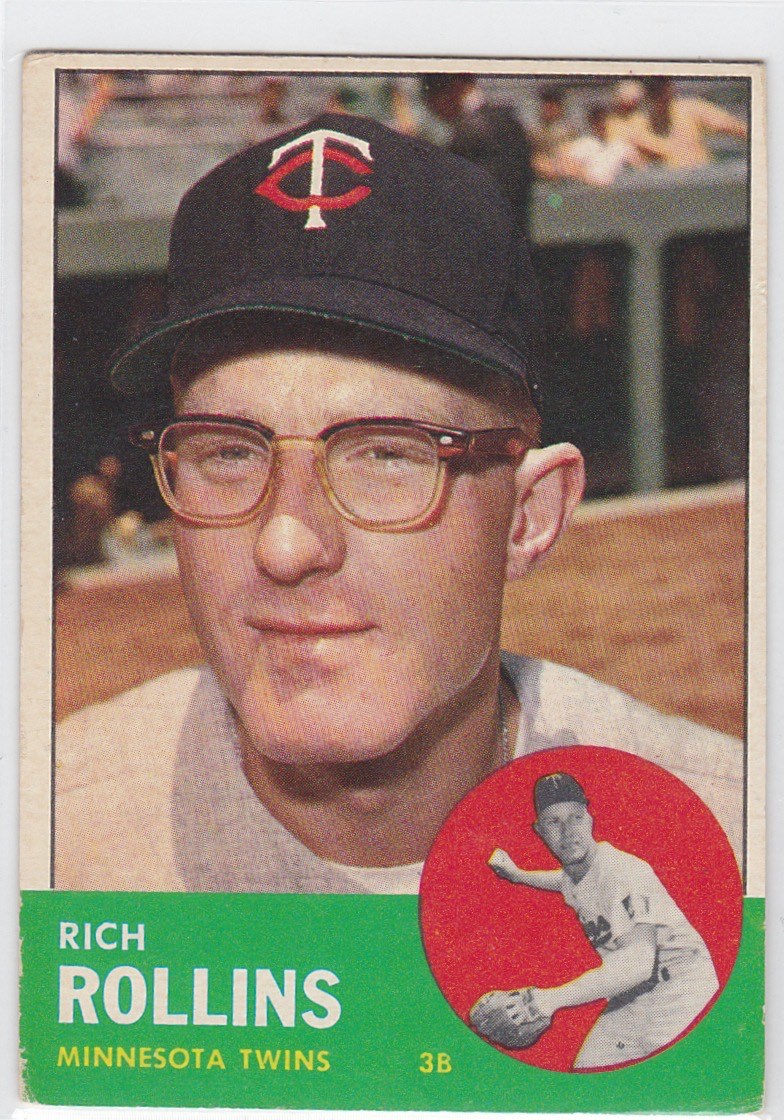 1963 Topps Rich Rollins