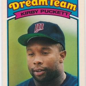 1989 K-Mart Dream Team Kirby Puckett
