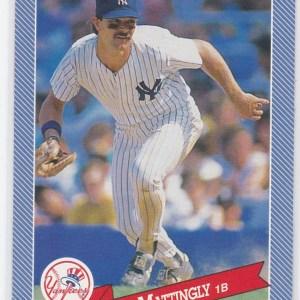 1993 Hostess Baseball Don Mattingly