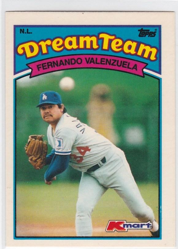 1989 K-Mart Dream Team Fernando Valenzuela