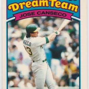1989 K-Mart Dream Team Jose Canseco